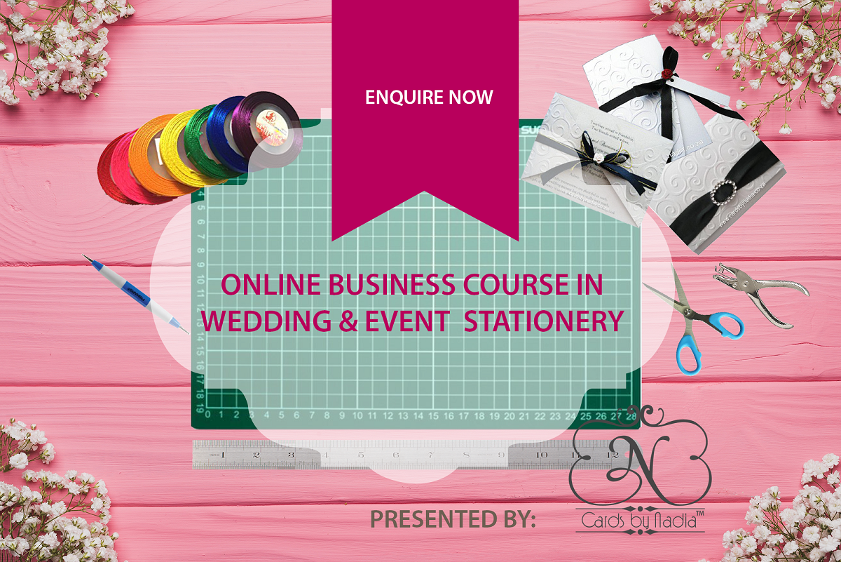 Start a Profitable Wedding & Event Stationery Business
